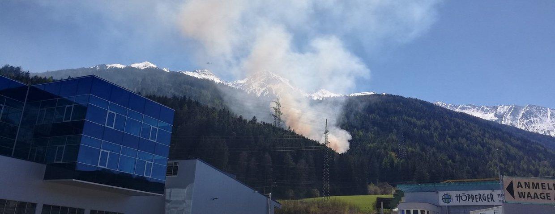 Waldbrand 24.4.21